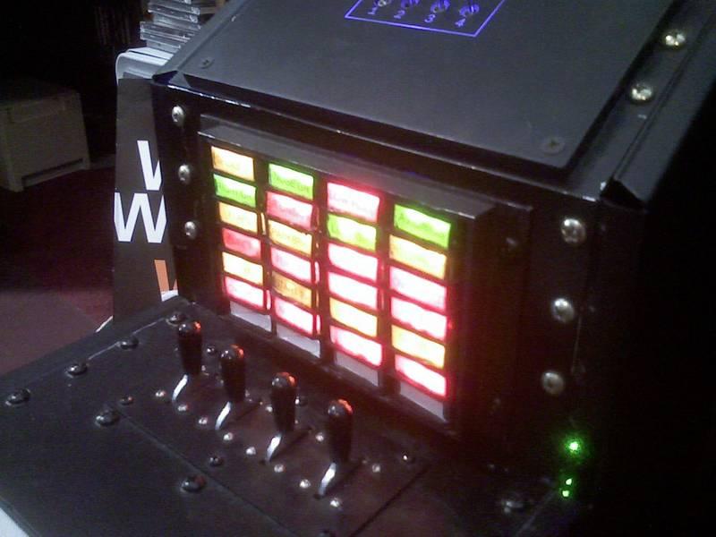 illuminated annunciator panel