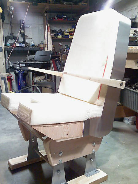 Weber crew seat
