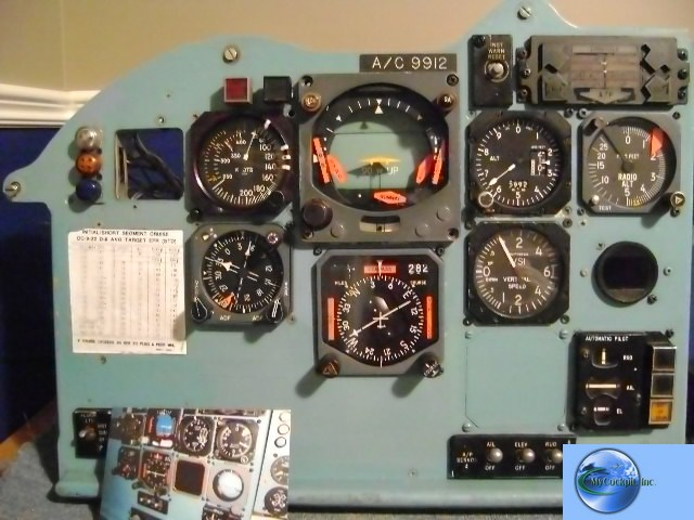 DC-9-31 instrument panel