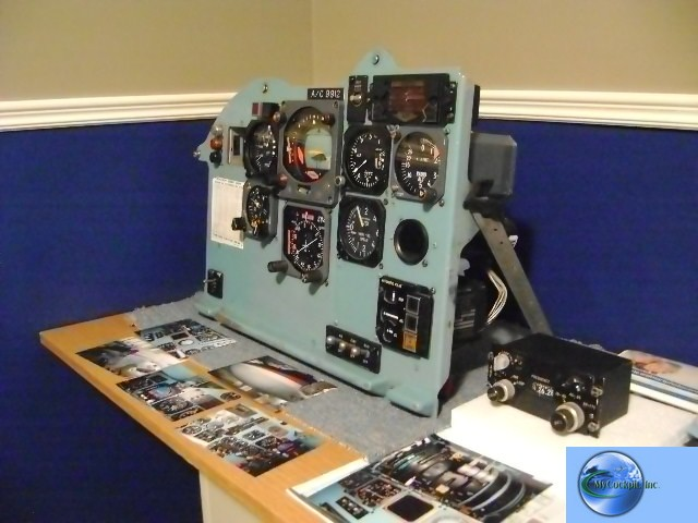 "DC9-31 instrument panel  ""Captains Side"""