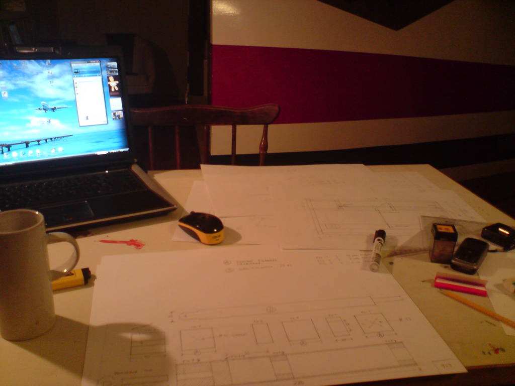 My drawing-table