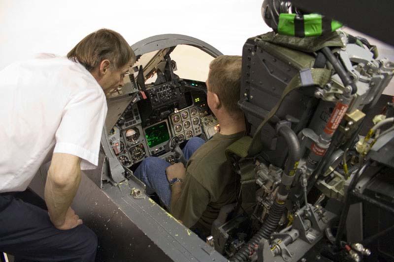 F3 Simulator at RAF Leuchars