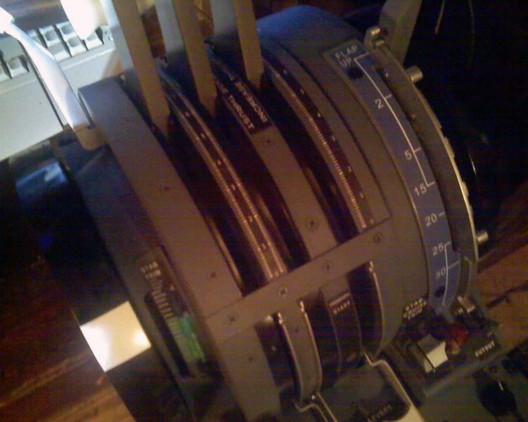 Scratch-built Boeing 727 Throttle Quadrant