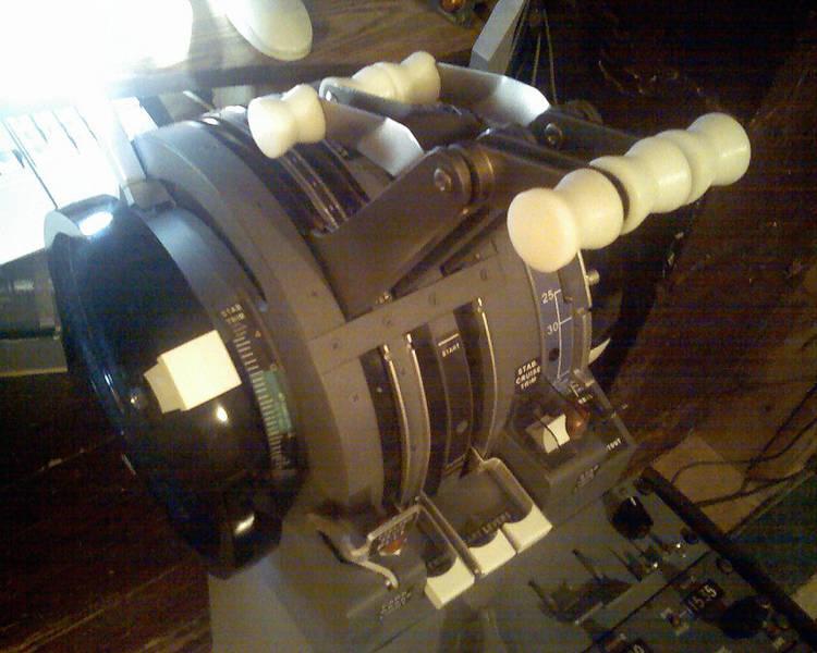B-727 Throttle Quadrant