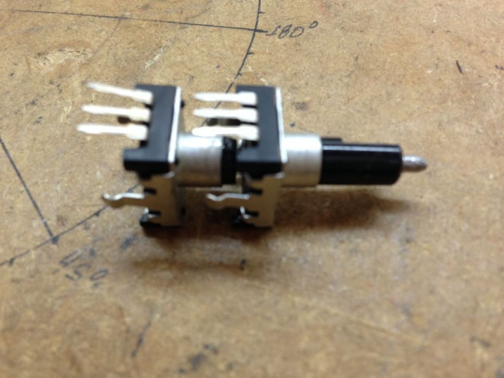 double concentric rotary encoder