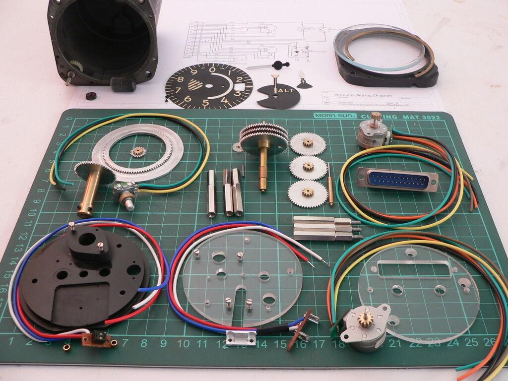 Altimeter parts