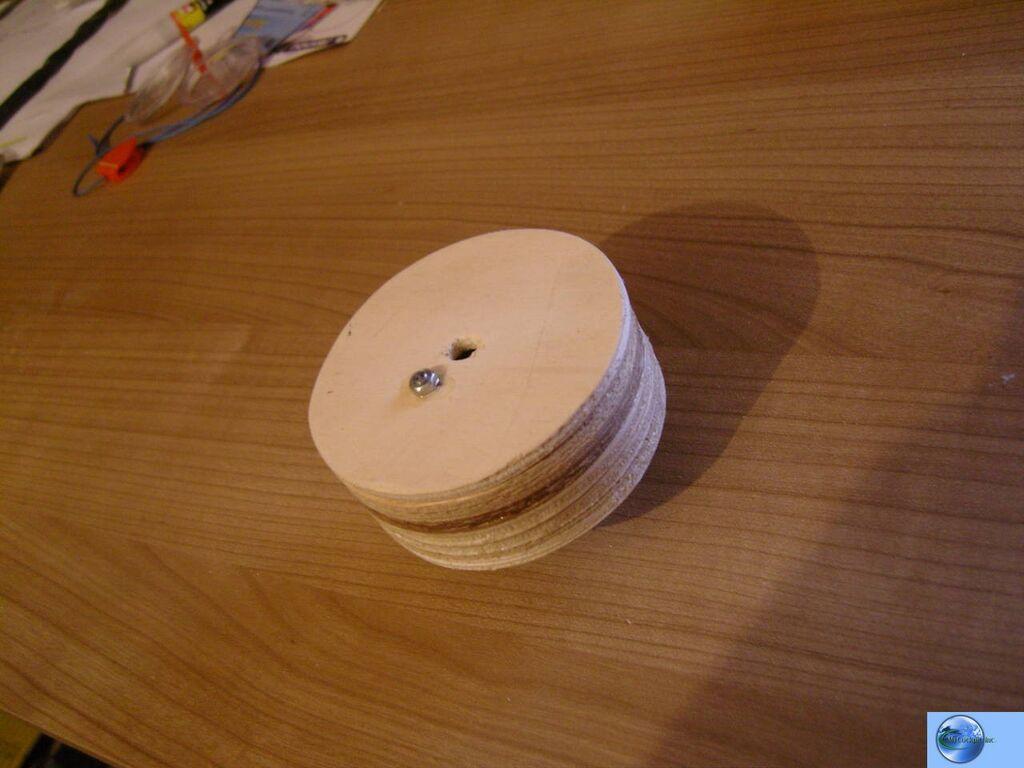 Home made stringpot