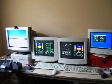 Front View of Network Setup