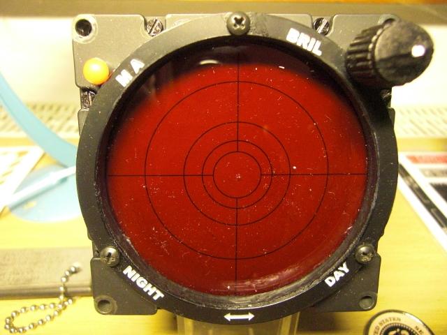 AN-APR39(V) Radar Warning indicator  Bell 209 AH-1F Cobra