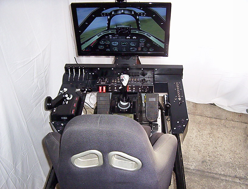 motion flight simulator