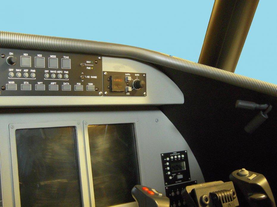 Regional Jet Simulation / Learsim FO side