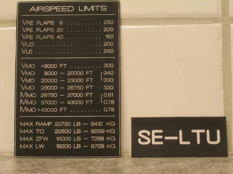 Speed Reference Chart (Learsim)