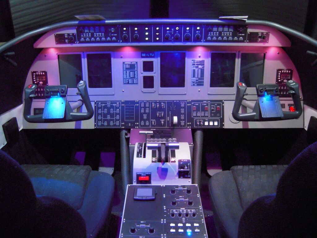 Regional Jet Simulation