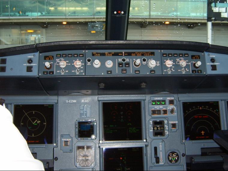 EasyJet Airbus A319  - My Cockpit Visit Photos