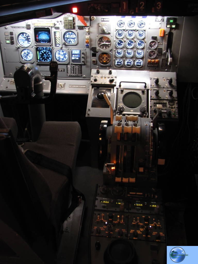 Lufthansa Boeing 727-230